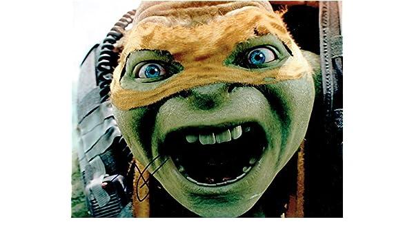 NOEL FISHER - Teenage Mutant Ninja Turtles AUTOGRAPH Signed ...