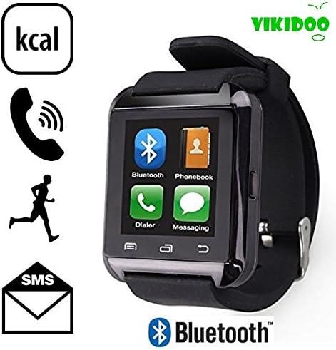 Vikidoo - Reloj inteligente U8 táctil, manos libres, Bluetooth ...