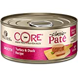 Wellness Core Natural Grain Free Wet Canned Cat Food, Turkey & Duck, 5.5-Ounce Can, Pack Of 24