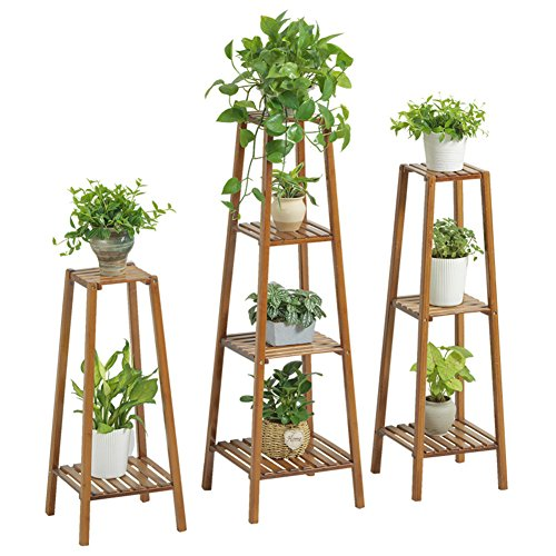 Indoor flower room wooden multilayer balcony showy-B by Flower racks (Image #1)