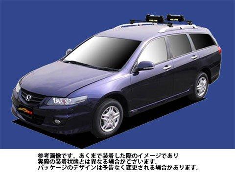 システムキャリア アコードワゴン 型式 CM1 CM2 CM3 SK0 スキースノボ 平積 1台分 タフレック TUFREQ B06Y117W7D