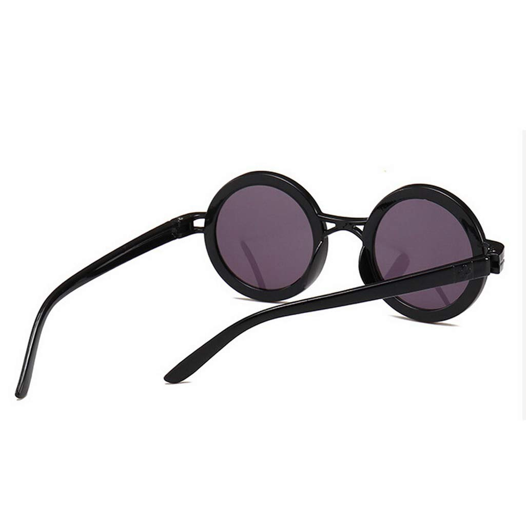 Amazon.com: Baby Kids Round Vintage Cute Sunglasses Shades ...
