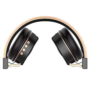 Zhrqinss Auricular Bluetooth Estéreo TF Tarjeta Radio Multifunción ...