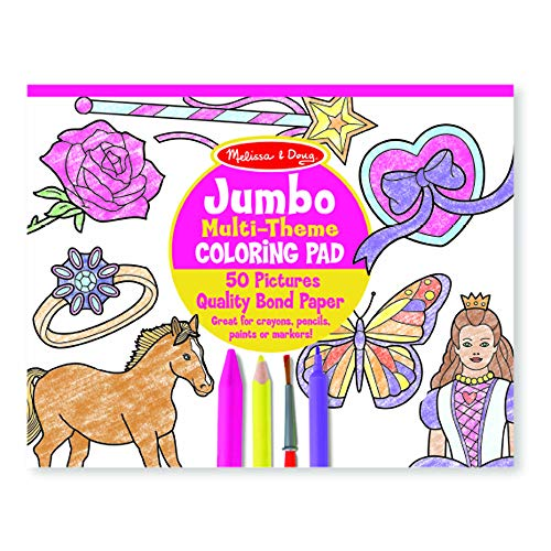 Coloring Pages Boys (Melissa & Doug Jumbo 50-Page Kids' Coloring Pad Paper; 11