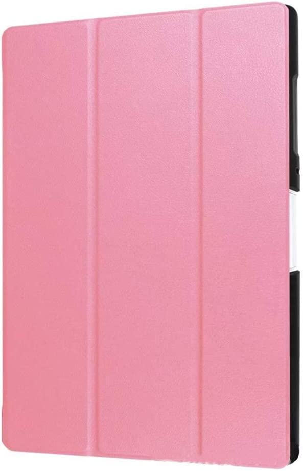 GOGODOG Acer B3-A40 Case Ultra Slim Bumper Full Body Protection Leather Protective Case 10.0 Inch Tablet Holder Shell Protector for Acer B3-A40 (Pink)