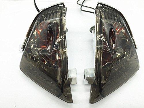 Rear Turn Signals Light Smoke for Suzuki 2006-2007 GSXR600 750 GSXR1000 2005-2006 (Rear Gsxr600 Tail)