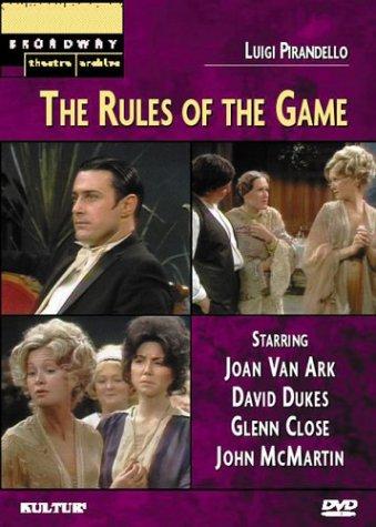 Luigi Pirandello's The Rules of the Game (Broadway Theatre - Picture Of Luigi
