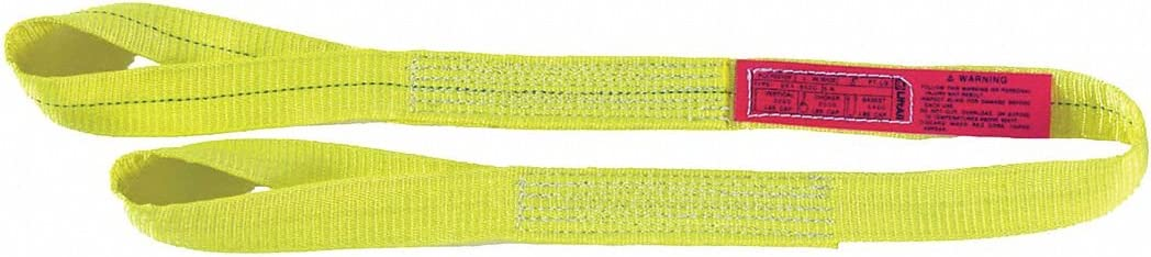 Type 4 Web Sling 11 ft Twisted Eye and Eye 1 W Polyester Number of Plies: 1