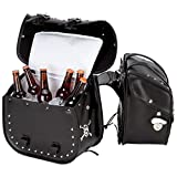 Beer Bags 4pc Studded Motorcycle Saddlebag Cooler Set