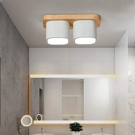 Branddb Lámpara de Techo para Sala de Estar Moda Superficie ...