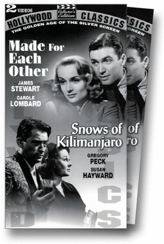 - Made for Each Other/Snows of Kilimanjaro [VHS]
