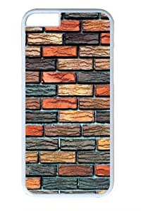 Brick Wall PC Case Cover for iphone 6plus 5.5 and iphone 6plus 5.5 inch White