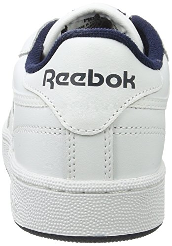 Gymnastics White 85 White Reebok C Adults' Shoes Unisex Int White Navy Navy Club Int qAnXwf0