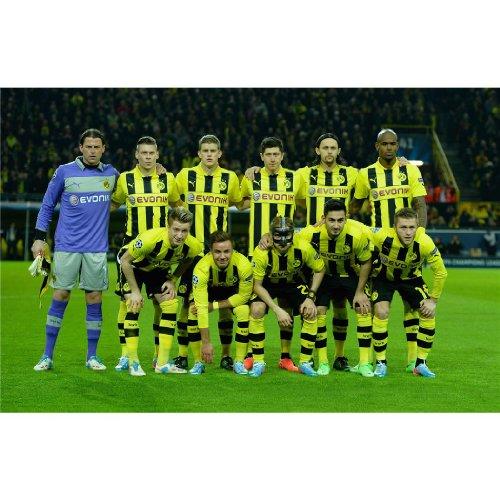 Borussia Dortmund Poster On Silk <92cm x 60cm, 37inch x 24inch> - 650D2E