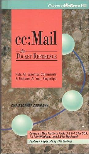 Descargar De Torrent Cc Mail: The Pocket Reference Directa PDF