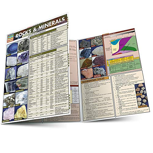 Rocks & Minerals (Quickstudy Reference Guides...