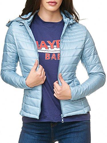 Elara Damen Jacke | taillierte Steppjacke | Ultraleicht | Chunkyrayan (XS-XXL) Blau (fällt eine Nummer kleiner aus)