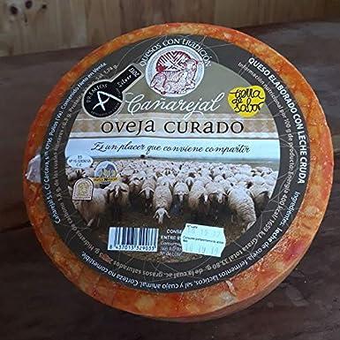 Queso Cañarejal Oveja Curado 1 Kg (Aprox.): Amazon.es: Alimentación y bebidas