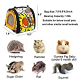 ADOGGYGO Small Animals Hamster Carrier Bag with