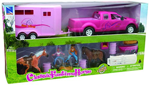 truck and horse trailer toy - 5