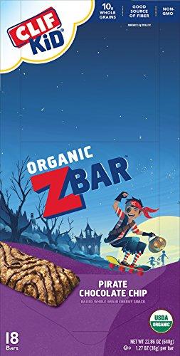 CLIF KID ZBAR - Organic Energy Bar - Pirate Chocolate Chip