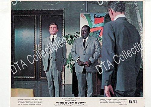 MOVIE PHOTO: THE BUSY BODY-MARY INGLES-GODFREY CAMBRIDGE-CARDSTOCK - Stock Cambridge