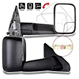 06 dodge tow mirrors - Scitoo Tow Side Mirror Pair Set For 02-08 Dodge Ram 1500 03-09 Ram 2500 3500 Full Size Pickup Truck Manual Towing Mirrors LH&RH