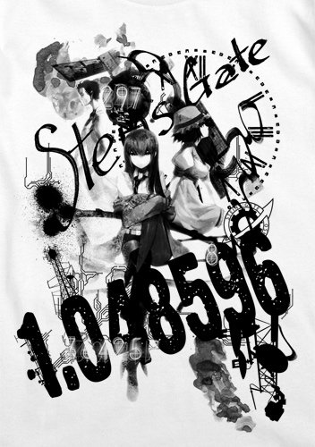 Steins;Gate Steins;Gate Collage T-shirt White XL: Amazon.co.uk: Toys & Games