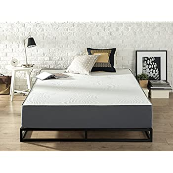 Zinus Responsive Memory Foam 10 Inch/Firm/Universal Comfort Support Mattress, Queen