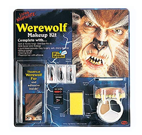 Werewolf Halloween Makeup Kit]()