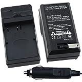 Insten Replacement EN-EL3e Battery Charger Compatible with Nikon D70 D80 D90 D100 D200