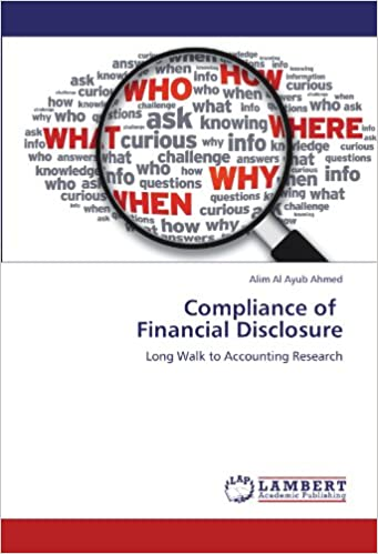 Compliance of Financial Disclosure: Long Walk to Accounting Research