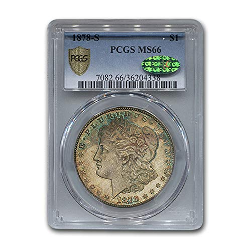 1878 S Morgan Dollar MS-66 CAC PCGS $1 MS-66 PCGS