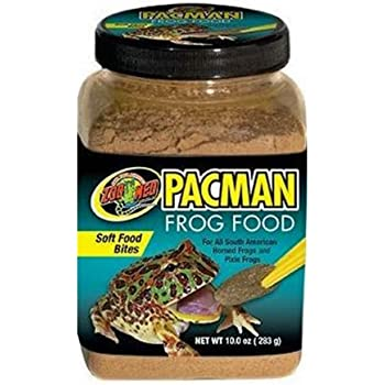 Zoo Med Pacman Frog Food, 10-Ounce