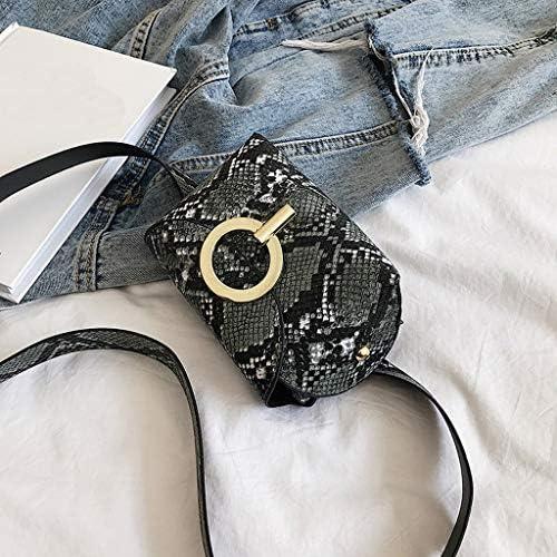 HAOLIEQUAN Waist Pack Fashion Belt Bag Waist Bags Women Designer Rivet Fanny Pack Female Travel Chest Bags Pu Leather Shoulder Bags