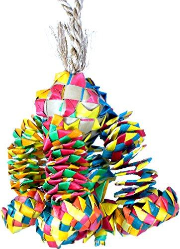 Planet Pleasures Diamond Bouncer Pinata Bird Toy Small ()