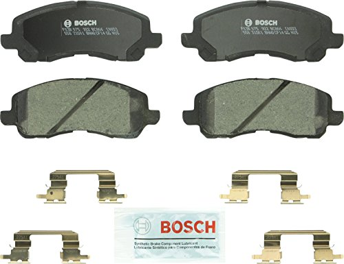 (Bosch BC721 QuietCast Premium Ceramic Disc Brake Pad Set For Subaru: 1998-2002 Forester, 1998-2002 Impreza, 1997-2001 Legacy, 2000-2001 Outback; Front )