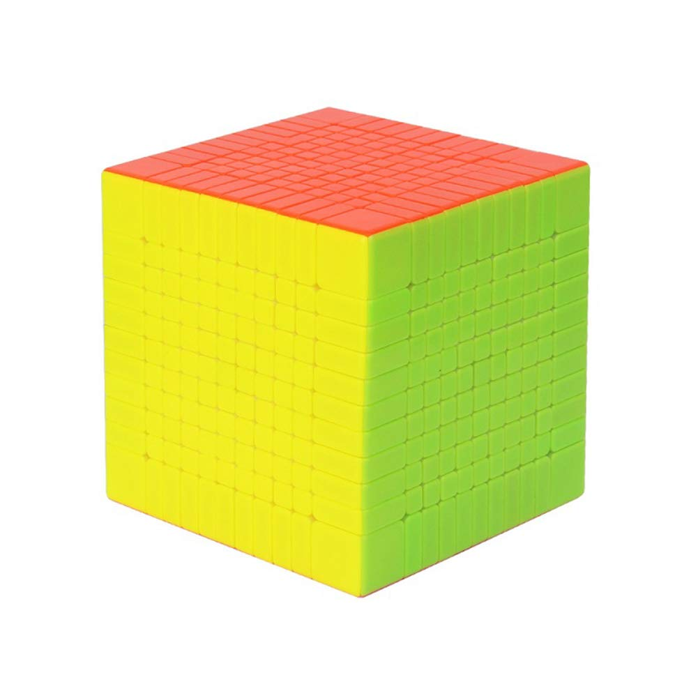 JIAAE Professional Competition Magic Cube, High-Order High Difficulty 11X11 Speed Cube, Educational Puzzle Toys for Children and Adults, Colorful