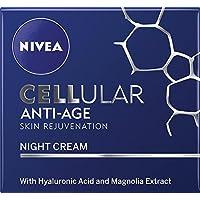 NIVEA Cellular Anti-Age Moisturising Skin Rejuvenation Night Cream, 50ml