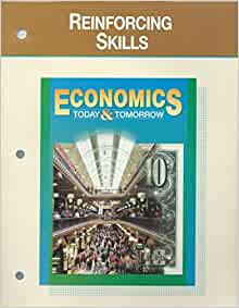 Economics today and tomorrow worksheets answers