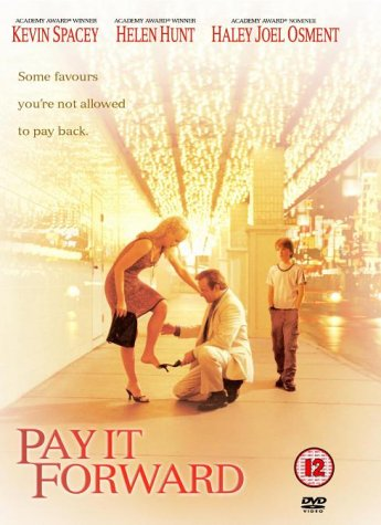 Image result for pay it forward dvd