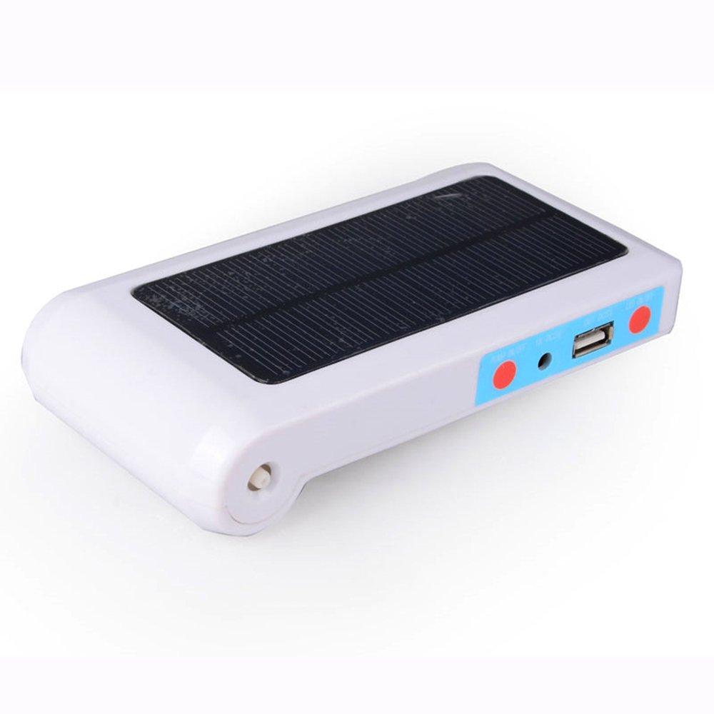 D@Qyb Acquario Aeration Air Pump - Portable Solar Panel Aquarium, Generatore Di Ossigeno USB Mobile Power