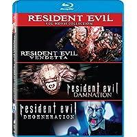 Resident Evil: Damnation /Resident Evil: Degeneration /Resident Evil: Vendetta - Set [Blu-ray]