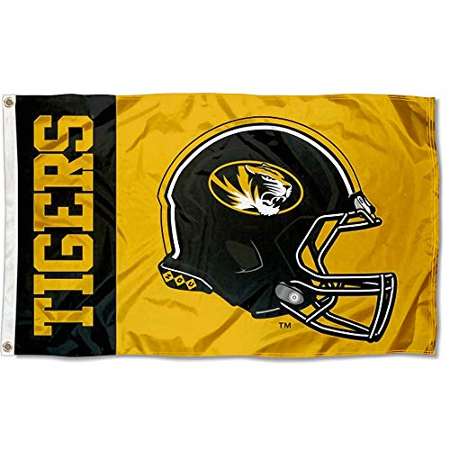 College Flags and Banners Co. Missouri Tigers Football Helmet