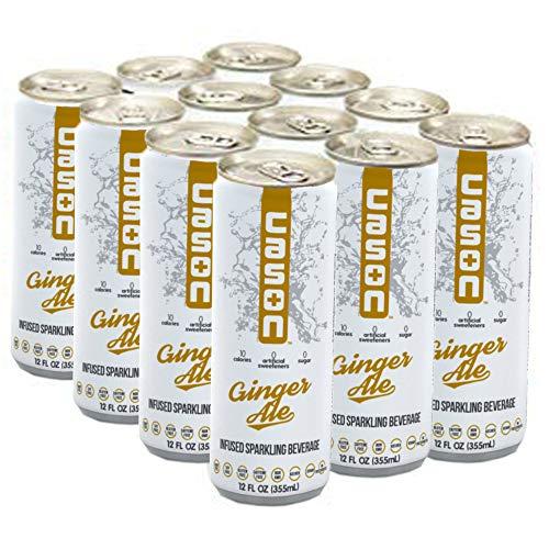 CASON Beverage, All-Natural Drink, Ginger Ale (12 Pack)