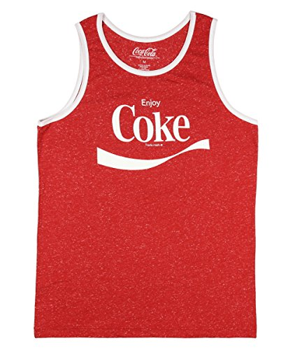 Coca Cola Coke Graphic Tank Top