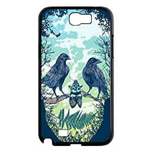 GRTT Gorgeous Samsung Galaxy Note 2 N7100 case Artsy Skull Customized Bumper Plastic Hard Case RT012511