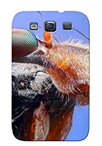 New Arrival Premium Galaxy S3 Case Cover With Appearance (stalkeyed Fly)