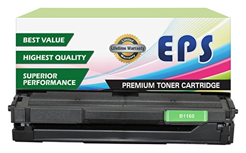 Mfp Mono Laser Printer - EPS Replacement Toner Cartridge for Dell B1160, B1160w, B1163w, B1165nfw (331-7335, HF442)