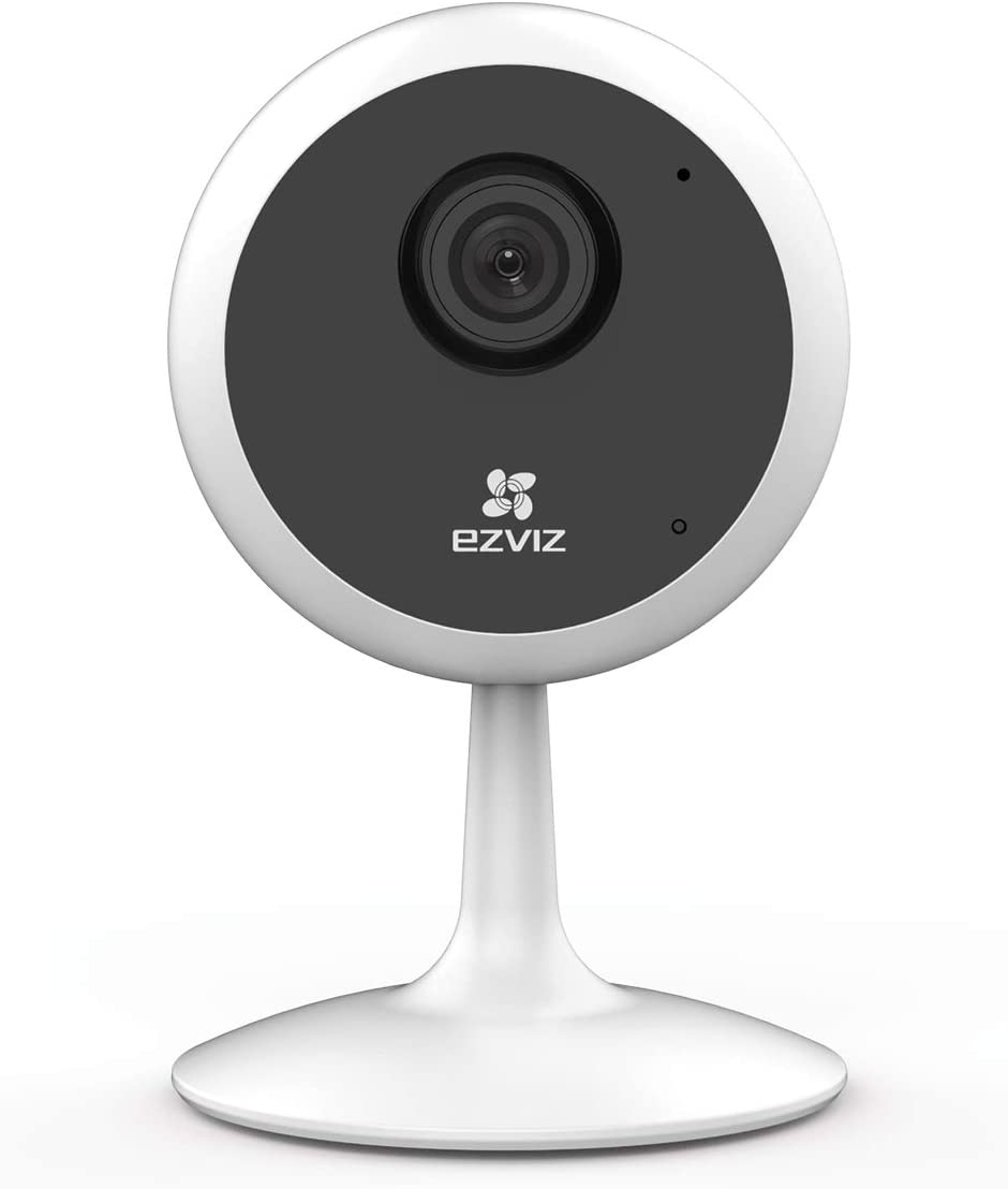 EZVIZ C1C 1080p - New Indoor WiFi Security Camera Smart Motion Detection Zone Full Duplex Two-Way Audio 40ft Night Vision 2.4GHz WiFi Supports MicroSD Card up to 256GB